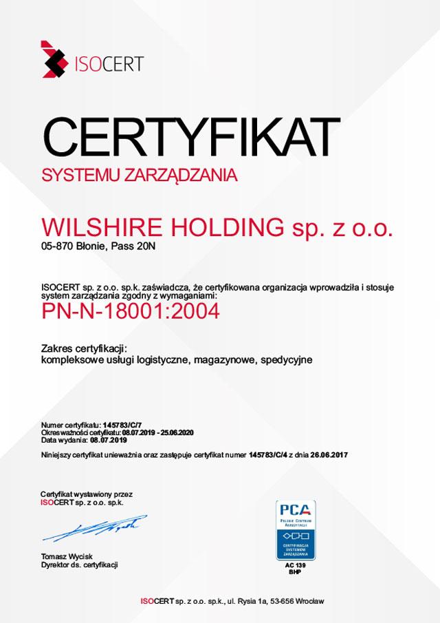PN-N 18001:2004